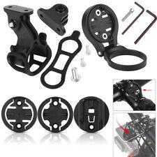 Black Bike Odometer Mount Holder Base Adapter For Garmin & Bryton & Cateye LY