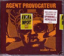 Agent Provocateur DAN UK CD Single w/ 2 LIVE TRX SEALED