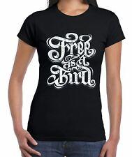 Free As a Bird Women's T-Shirt - Freebird Lynyrd Skynyrd Southern Rock