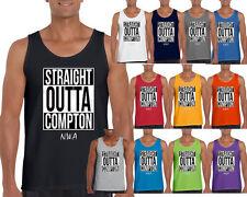 N.W.A Straight Outta Compton Custom Tank Top Straight Outta Tank Top Tee NWA Com