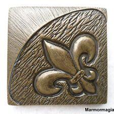 Einleger Metall Fliese Bordüre Naturstein Travertin Marmor Bronze Kupfer Silber