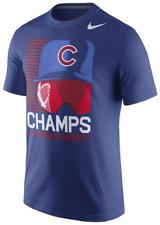 Nike Chicago Cubs Hat & Goggles World Series Champs Locker Room Team shirt men