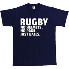 Rugby; no Cascos. n ° Almohadillas. sólo las bolas. gracioso presente Regalo para hombre de Superdry