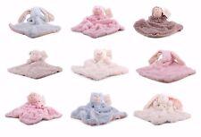 1 x Baby Schmusetuch Bär Hase Affe Kuscheltuch Babytuch Kuscheltier Nr. 1 Tuch