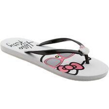 $36 Hello Kitty flats shoes Womens Veronica black sandals flip flop