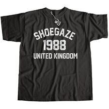Shoegaze Music 1988 T-shirt 100% Cotone Premium My Bloody Valentine