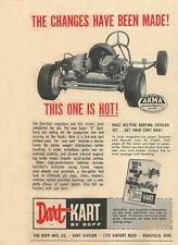 """Vintage 1960 Rupp Dart Kart Super """"K"""" Go-Kart Ad"""
