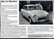 Daff---Daff 600 --Das ist Martina--Werbung - 1960-