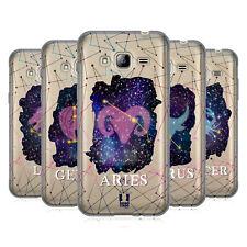 HEAD CASE DESIGNS Zodiac Constellation GEL souple Coque Pour Samsung Téléphones 3