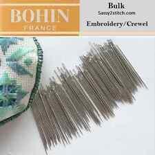 Bulk Bohin #9  Embroidery/Crewel Needles
