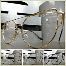 Women's CLASSIC VINTAGE RETRO Style Clear Lens EYE GLASSES Unique Fashion Frame