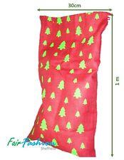 Large (1m) Traditional Santa Sack / Christmas Sack - Jute Natural Eco Friendly