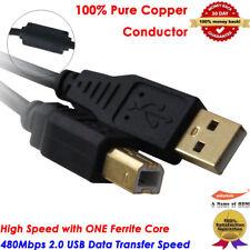 [UL Listed] 15Ft Extra Long USB-Printer-Cable 2.0 HP OfficeJet LaserJet Envy Lot