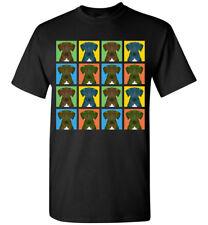 Plott Hound Cartoon Pop-Art T-Shirt Tee, Men Women Youth Tank Short Long Sleeve