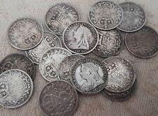 Queen Victoria 1868-1901 3 pence pièces choisissez votre année