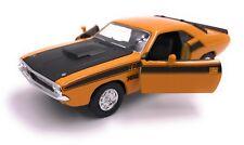 Dodge Challenger T/A 1970 Maquette de voiture auto produit sous licence 1:3 4-1