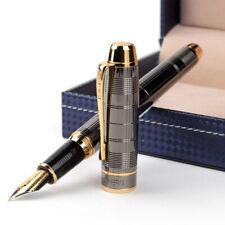 2018 Hero 953 Classic Metal China Fountain Pen Screw Fine Nib 0.58mm Box Student