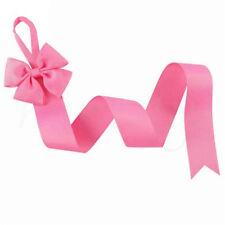2/9x Kids Girl Hair Bow Grosgrain Ribbon Baby Hair Clip Holder Storage Organizer