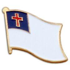 Lapel Pin Christian Flag