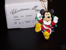 "DISNEY GROLIER CHRISTMAS MAGIC ""MICKEY"" ORNAMENT - NIB!"