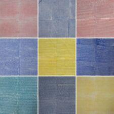 Sanganeri Indian Cotton Fabric Natural Printed Handmade Running Loose Vintage