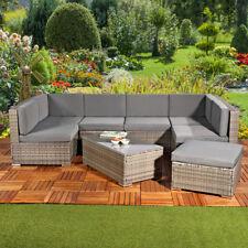 Terrassenmöbel lounge holz  Polyrattan Lounge Set Garnituren & Sitzgruppen | eBay