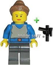 LEGO STAR WARS - PADME NABERRIE AMIDALA FIGURE + GUN - 7131,7171 - 1999 - NEW