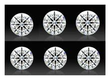 Brilliant White 8 Hearts & Arrows Round AAAAA Cubic Zirconia 3/6/8/10mm Size