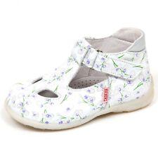 E6970 sandalo bimba white/silver KICKERS JOEL scarpe shoe baby girl