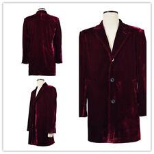 Hot! Doctor Who Twelfth 12th Dr. Coat Velvet Cosplay Costume:GHJ