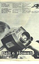 PUBLICITE 1966  BELL & HOWELL caméra super 8 432
