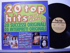 ABBA TINA CHARLES WILD CHERRY ALVIN CASH SALSOUL WANDO disco LP 33 ITALY 1977