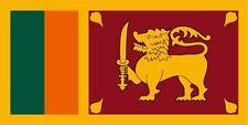 Sri Lanka lfd0172 Autoaufkleber Sticker Fahne Flagge Land