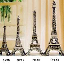 Durable Retro Statue Figurine Paris Eiffel Tower Model Home Car Decor Gift RF