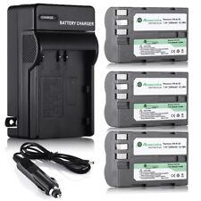 EN-EL3e ENEL3e Battery + Charger For Nikon D100 D700 D300s D200 D80 D70s D50 D90