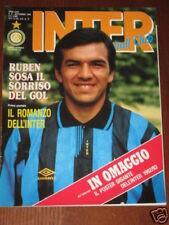 INTER FOOTBALL CLUB 1992/8 ZENGA FERRI BERGOMI SHALIMOV