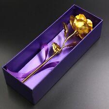 künstliche vergoldete Rose Simulationsblumen Valentinstag sofort lieferbar Liebe