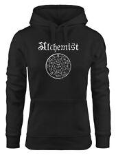 Damen Hoodie Alchemist Symbol Vintage Alchemie Steampunk Gothic