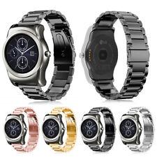 Stainless Steel Band Strap Folding Clasp for LG Watch R W100 / Watch Urbane W150