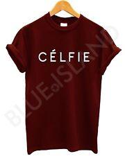 Celfie t shirt Vogue Femmes Haut Hommes Swag Dope Hipster seul fashion Meow