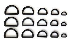 10 or 20 D Ring Buckle for 10,15,20,25,30mm Webbing Buckle fastener adjuster