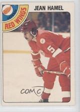 1978-79 O-Pee-Chee #281 Jean Hamel Detroit Red Wings Hockey Card