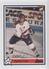 1990 7th Inning Sketch LHJMQ #252 Patrick Cote Victoriaville Tigres (QMJHL) Card