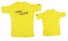 Body Glove Rash Guard S/a Basic Children's Yellow Swim Beach New uv Protection