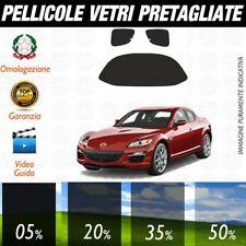 Mazda RX8 dal 2003 al 2006 Pellicole Oscuramento Vetri Auto Pre Tagliate a Misur