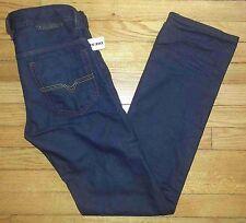 2266 NWT $228 Navy Blue 27 30x32 DIESEL Safado Slim Straight Distressed Jeans!