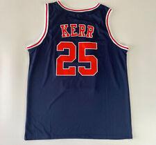 Vintage Steve Kerr #25 Basketball Jerseys All Stitched Custom All Names