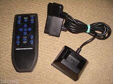 Sony Playstation 2 PS2 DVD receptor de control remoto de Muelle Soporte Negro Thrustmaster