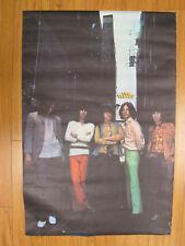 The Rolling stones 69' rock n roll orig Vint Poster #103