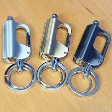 EDC Carabiner Keyring Permanent Match Lighter Camping Outdoor Survival
